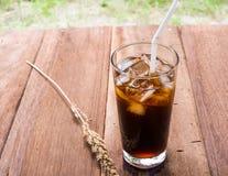 Bebida del americano del hielo Fotos de archivo