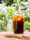Bebida del americano del hielo Imagen de archivo libre de regalías