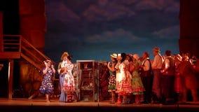 Bebida del amor de la ópera cómica almacen de video