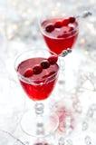 Bebida del arándano Foto de archivo libre de regalías