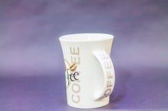 Bebida del café de la taza Imagen de archivo libre de regalías