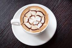 Bebida del café del Mocha Fotos de archivo libres de regalías