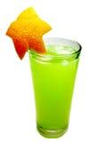 Bebida del cóctel del sacador del alcohol con la naranja Fotos de archivo libres de regalías