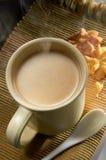 Bebida del cereal caliente foto de archivo libre de regalías