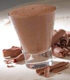 Bebida del chocolate imagen de archivo