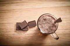 Bebida del chocolate Foto de archivo