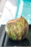 Bebida del coco Fotos de archivo