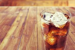 Bebida del coque fotografía de archivo