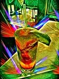 Bebida del cumpleaños fotografía de archivo libre de regalías