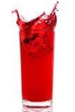 Bebida del jugo de la baya Fotos de archivo
