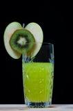 Bebida del kiwi, soda, cóctel Foto de archivo libre de regalías