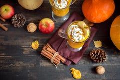 Bebida del otoño Imagen de archivo libre de regalías