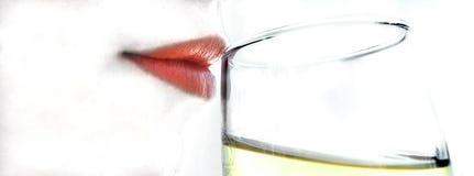 Bebida del partido Imagen de archivo