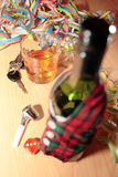 Bebida del partido de oficina Imagen de archivo libre de regalías