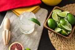 Bebida del Tequila Fotografía de archivo