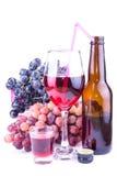 Bebida del vino rojo imágenes de archivo libres de regalías