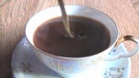 Bebida, deliciosa, café almacen de video