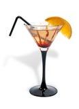 Bebida do álcool em um vidro Foto de Stock