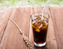 Bebida do americano do gelo Fotos de Stock