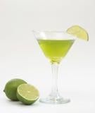 Bebida do cal Fotos de Stock Royalty Free