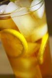 Bebida do chá de gelo fotografia de stock
