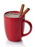 Bebida do chocolate quente foto de stock