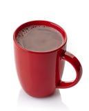 Bebida do chocolate quente imagens de stock