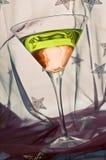 Bebida do cocktail de Martini Fotos de Stock