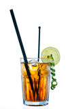 Bebida do cocktail do chá de gelo Fotografia de Stock