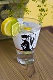 Bebida do cocktail do limão Imagem de Stock