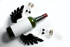 Bebida do Fly-out fotografia de stock royalty free