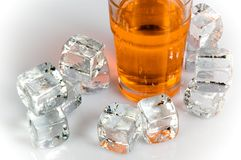 Bebida do gelo Fotos de Stock Royalty Free