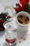 Bebida do inverno Fotografia de Stock