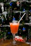 Bebida do Natal Imagens de Stock