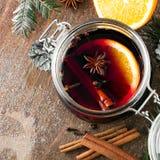 Bebida do Natal imagem de stock