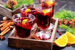 Bebida do Natal Fotos de Stock Royalty Free