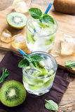 Bebida do quivi (cocktail) Fotos de Stock