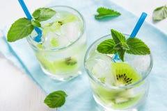 Bebida do quivi (cocktail) Imagens de Stock
