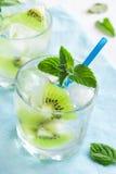 Bebida do quivi (cocktail) Fotografia de Stock Royalty Free