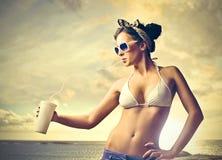 Bebida do verão fotos de stock royalty free