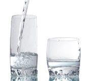 Bebida dois de vidro Imagens de Stock Royalty Free