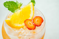Bebida dos cocktail do gelo fotos de stock royalty free