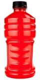 Bebida dos eletrólitos dos esportes no frasco plástico Fotos de Stock
