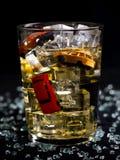 Bebida e movimentação Imagem de Stock Royalty Free