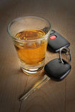 Bebida e movimentação de Don?t Fotos de Stock
