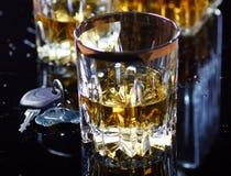 Bebida e movimentação Imagens de Stock