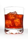 Bebida en las rocas Imagenes de archivo