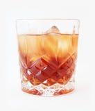 Bebida en un vidrio Foto de archivo libre de regalías