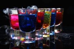 Bebida en vidrio Imágenes de archivo libres de regalías