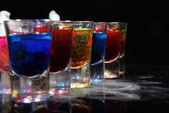 Bebida en vidrio Fotos de archivo